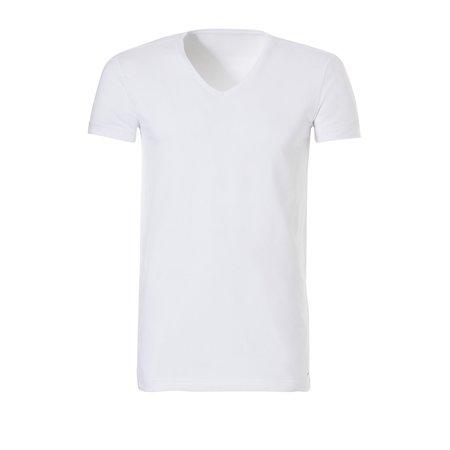 Ten Cate Heren Basic V-shirt - 2-Pack- Wit