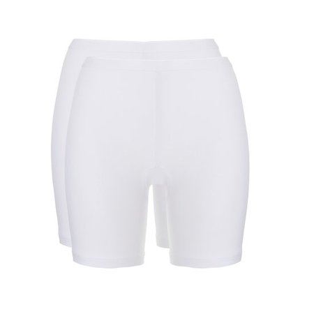 Ten Cate Dames Short 2-Pack - Wit
