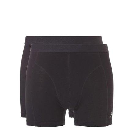 Ten Cate Heren Bamboe shorts - 2-Pack - zwart