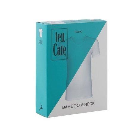 Ten Cate Heren bamboe V-neck - Zwart