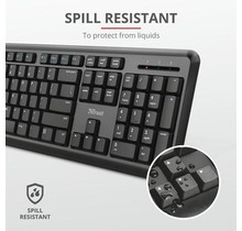 Trust ODY Wireless Silent Keyboard and Mouse Set - Qwerty