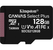 Kingston Technology Canvas Select Plus flashgeheugen 128 GB MicroSDXC UHS-I Klasse 10 - Copy