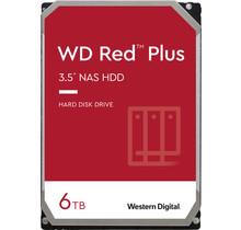 """WESTERN DIGITAL WD60EFZX RED PLUS HDD [6TB, 3.5"""", SATA3, 5400 RPM, 256 MB, 147 MB/S]"""
