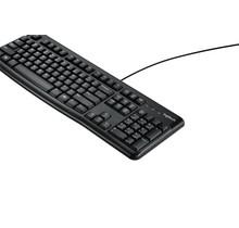 Logitech K120 toetsenbord USB QWERTY Internationaal Zwart