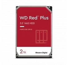 Western Digital WD20EFZX RED PLUS HDD [2TB, SATA3, 5400 RPM, 64 MB, 147 MB/s]