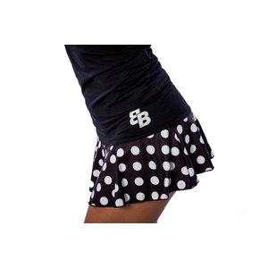 BB by Belen Berbel BB by Belen Berbel Padel Skirt Black White Dots