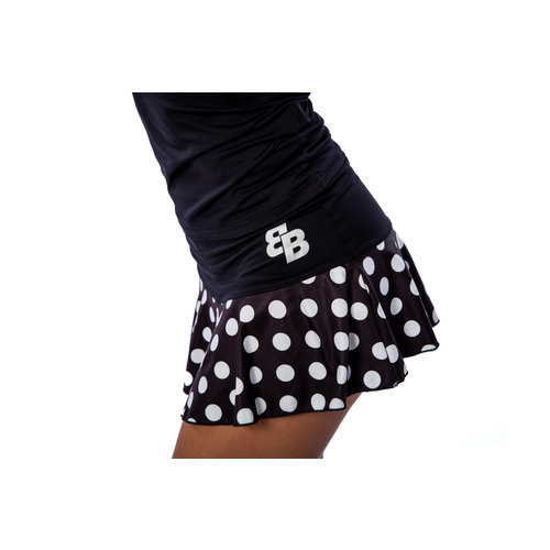 BB by Belen Berbel Skirt Dots Black White