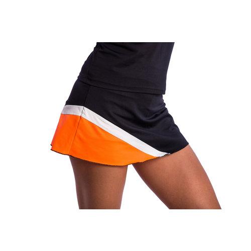 BB by Belen Berbel Skirt Berlin Orange Black