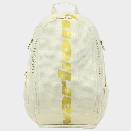 Varlion White Ambassadors Leather Bagpack