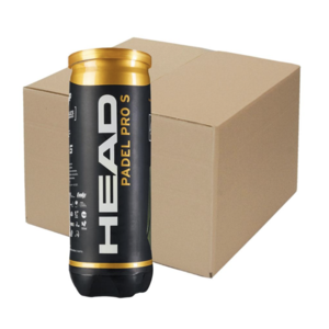 Head Head Padel Pro S Palline da Padel (24 * 3 pieces)