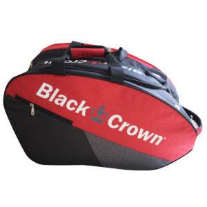 Black Crown Black Crown Padel Tas Rood / Zwart