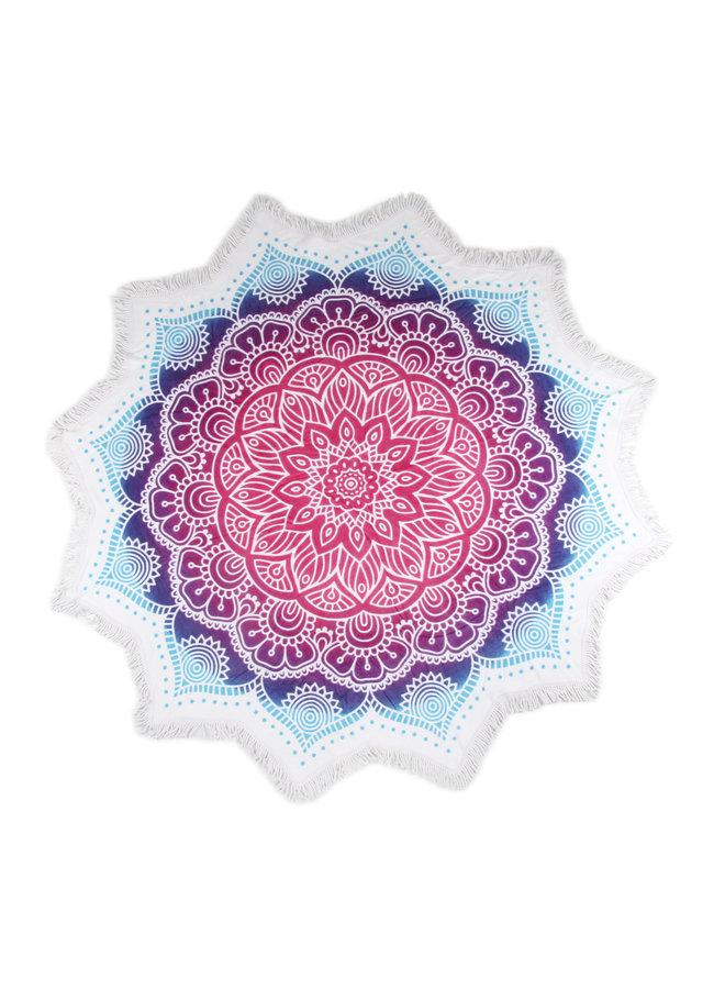 Strandlaken flower shape ? 160 cm nr.2070 multi