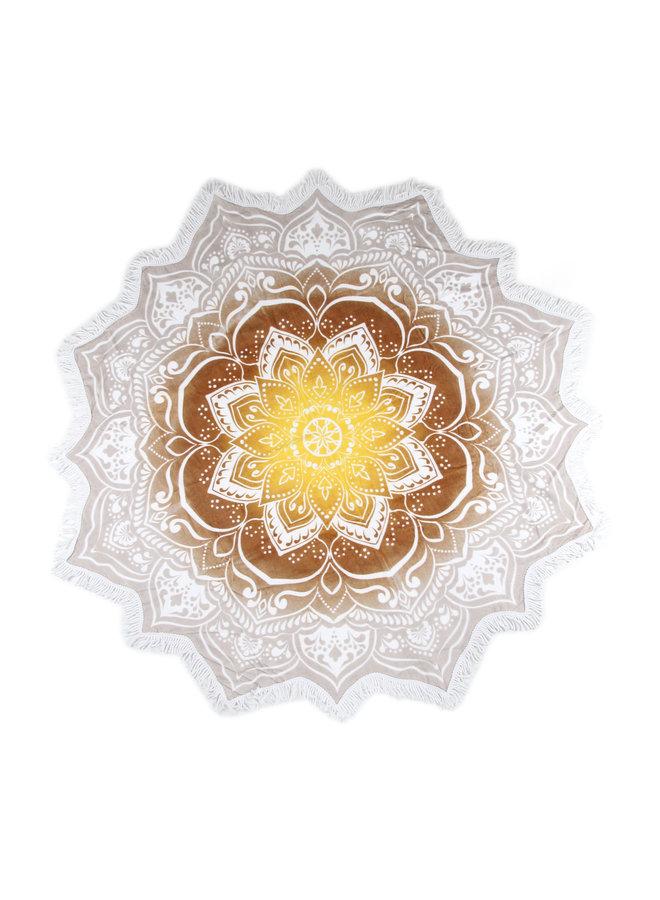 Strandlaken flower shape ? 160 cm nr.2068 multi