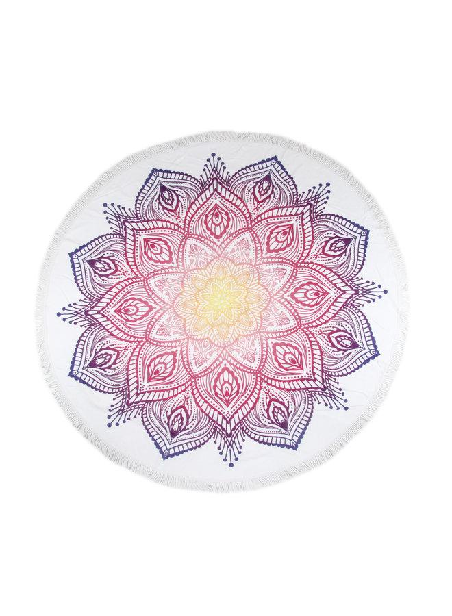 Strandlaken diameter 160 cm nr.2069 multi