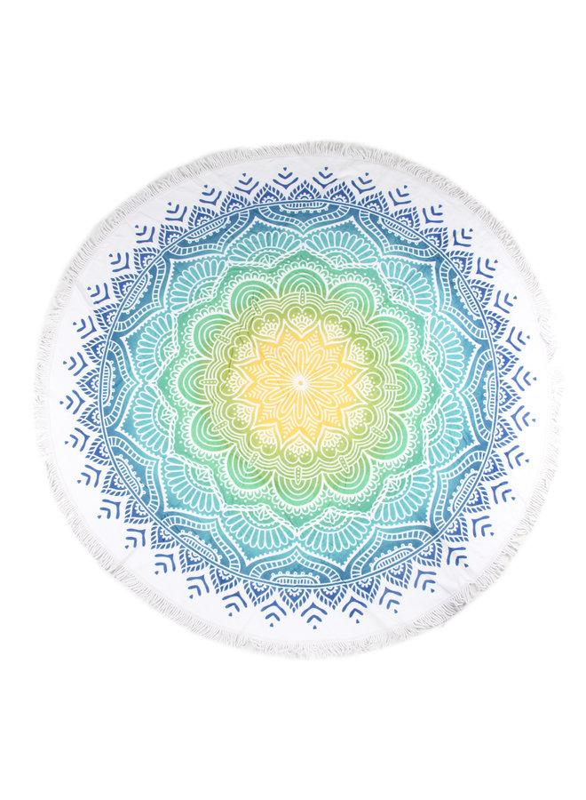 Strandlaken diameter 160 cm nr.2067 multi
