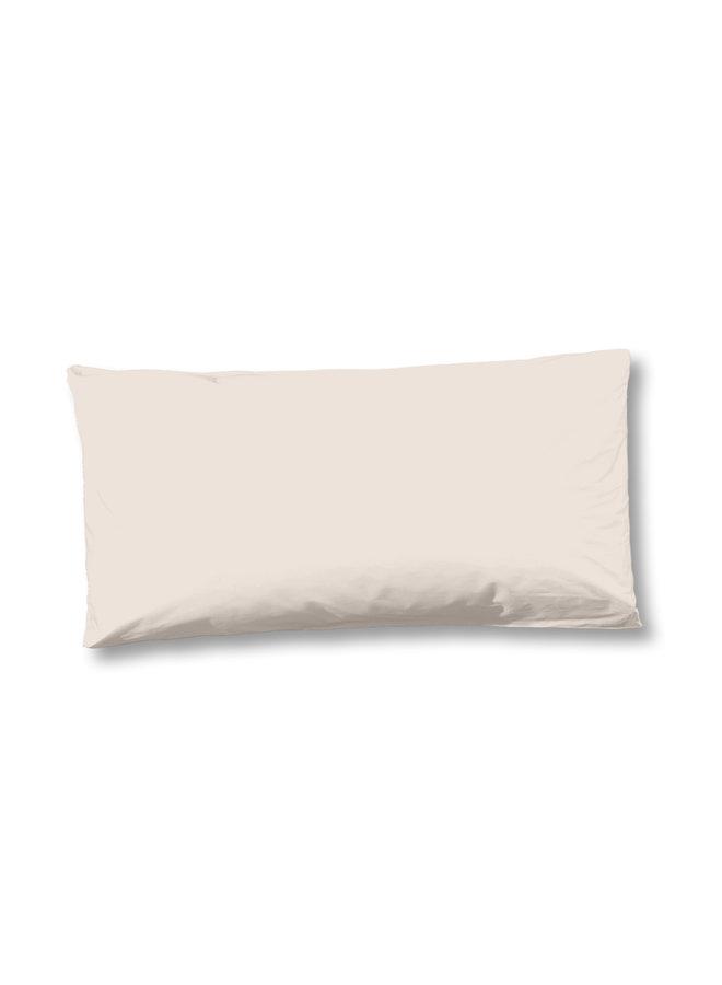 Kussensloop 1-40x80 katoen sv white-sand
