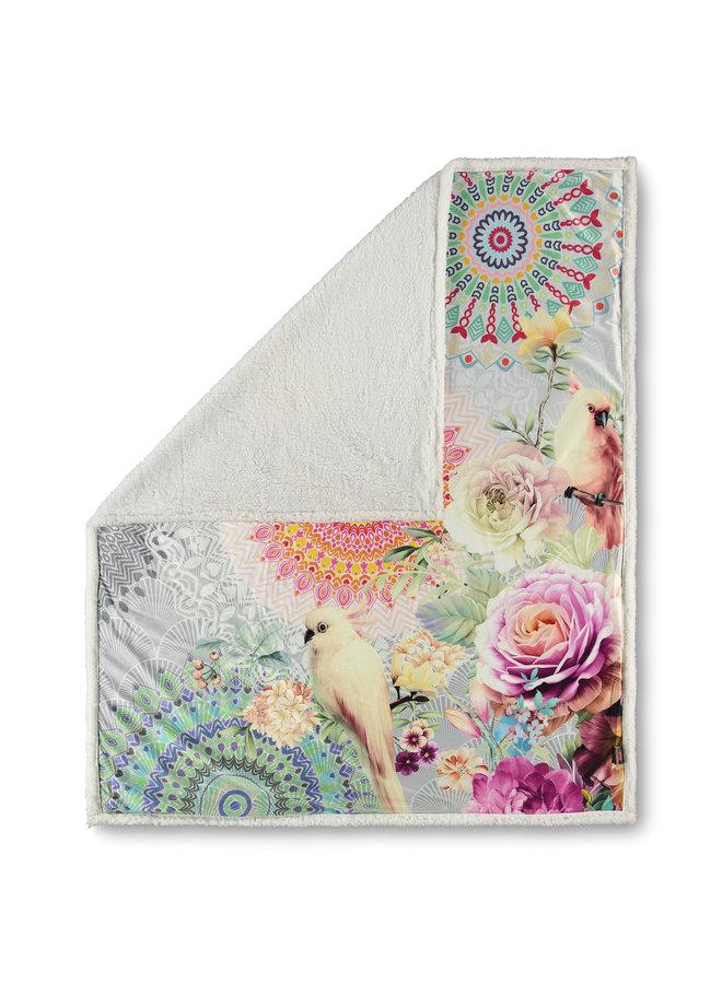 Plaid 130x160 polyester nr.6488 multi