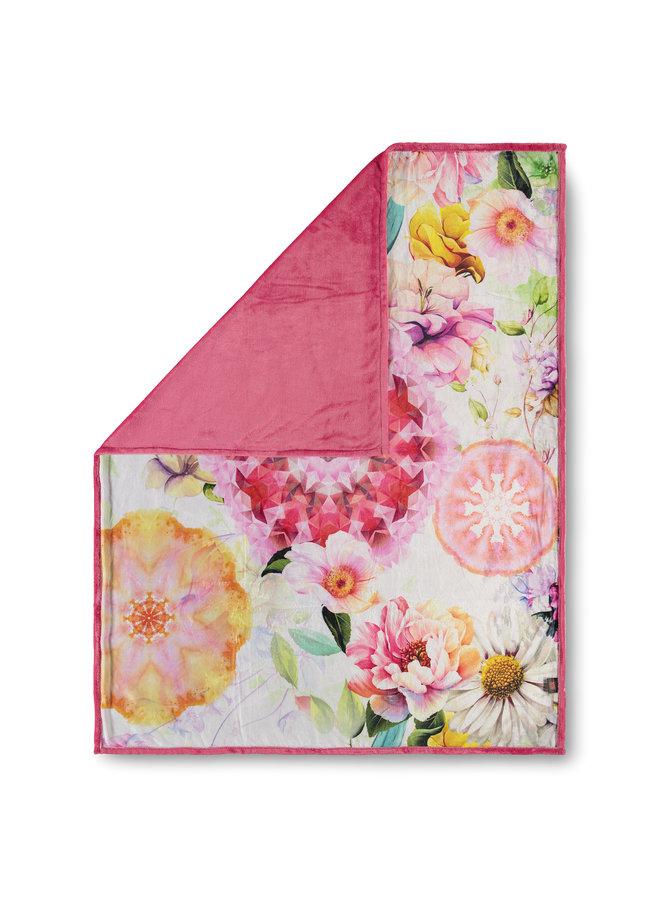 Plaid 130x160 polyester nr.6456 multi