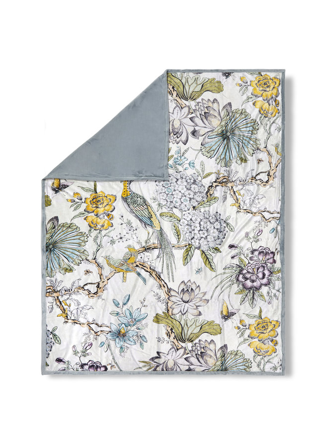 Plaid 130x160 polyester nr.30036 multi