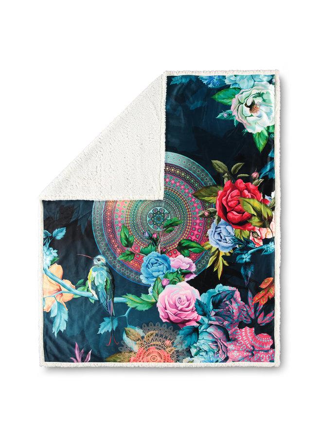 Plaid 130x160 polyester nr.5850 multi