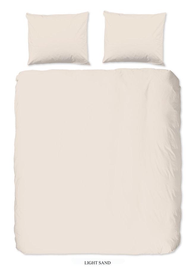 Dekbedovertrek Lits-jumeaux 240x220 katoen-satijn l.zand