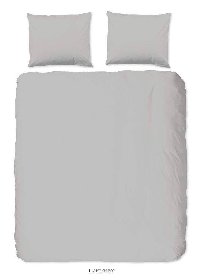 2-persoons dekbedovertrek 200x220 katoen sv l.grijs