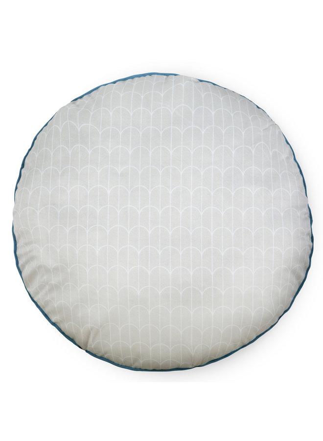 Rond sierkussen 55cm diameter polyester nr.30034 multi