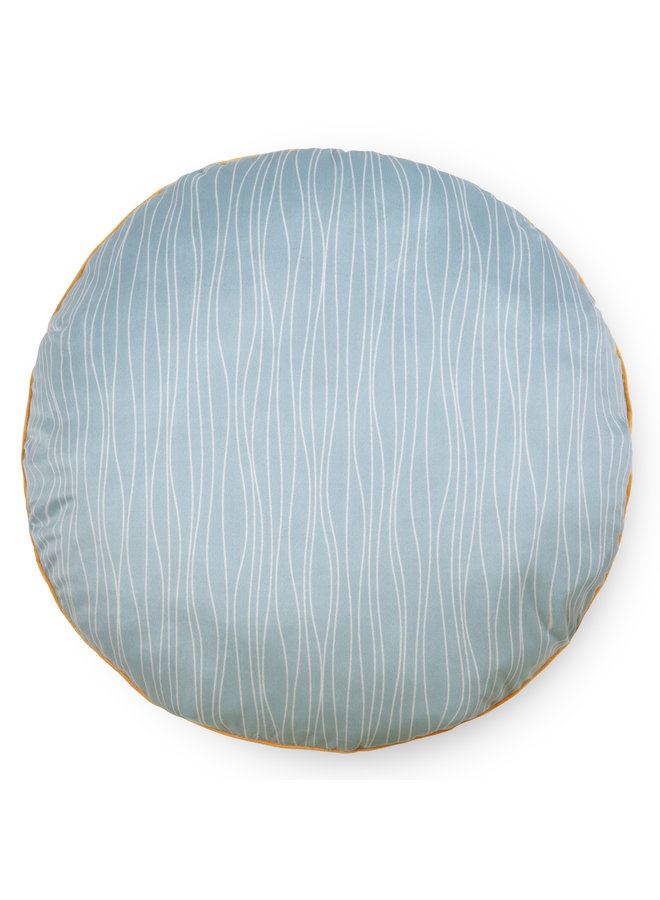 Rond sierkussen 55cm diameter polyester nr.30036 multi