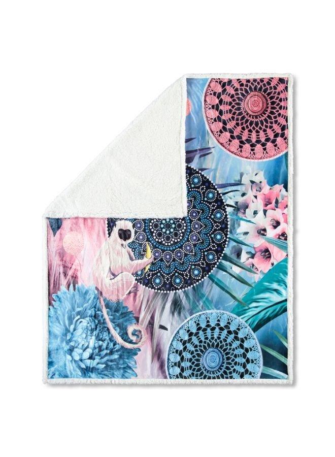 Plaid 130x160 polyester nr.6689 multi