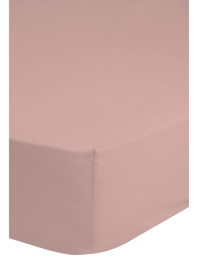 Hoeslaken 180x220 Good Morning jersey pink