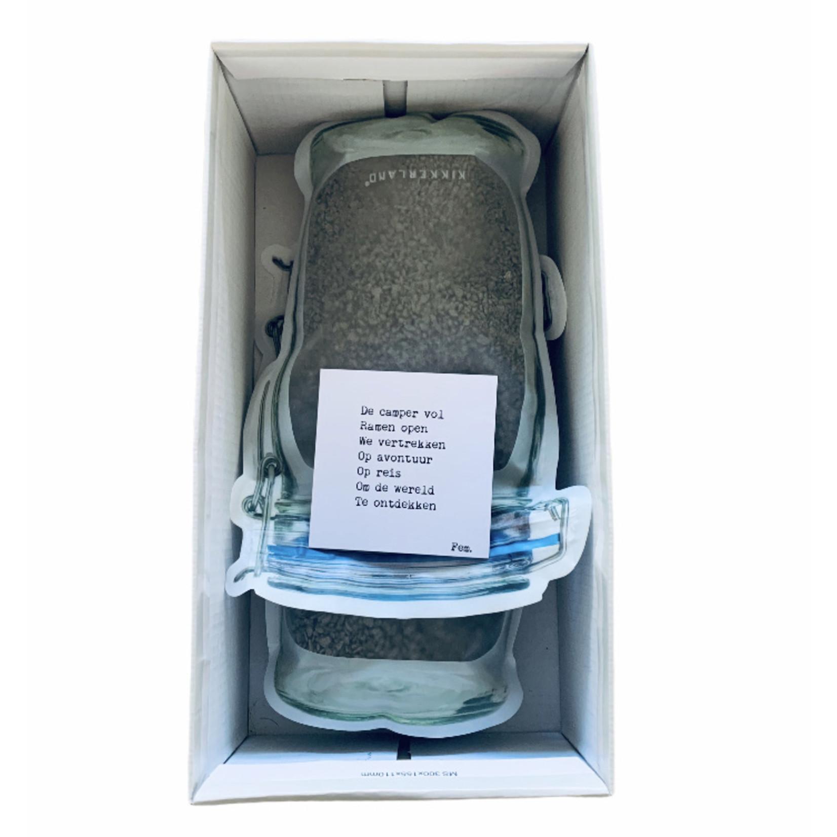 CamperHomie Strooi mee en verwijder CO2