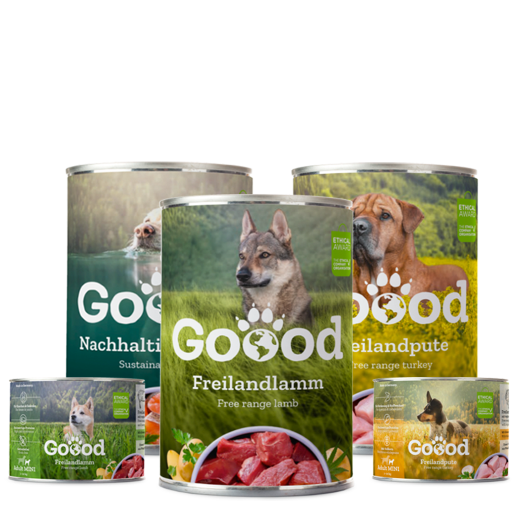Goood Pet Food Zorg goed voor jouw Homie tijdens jouw reis