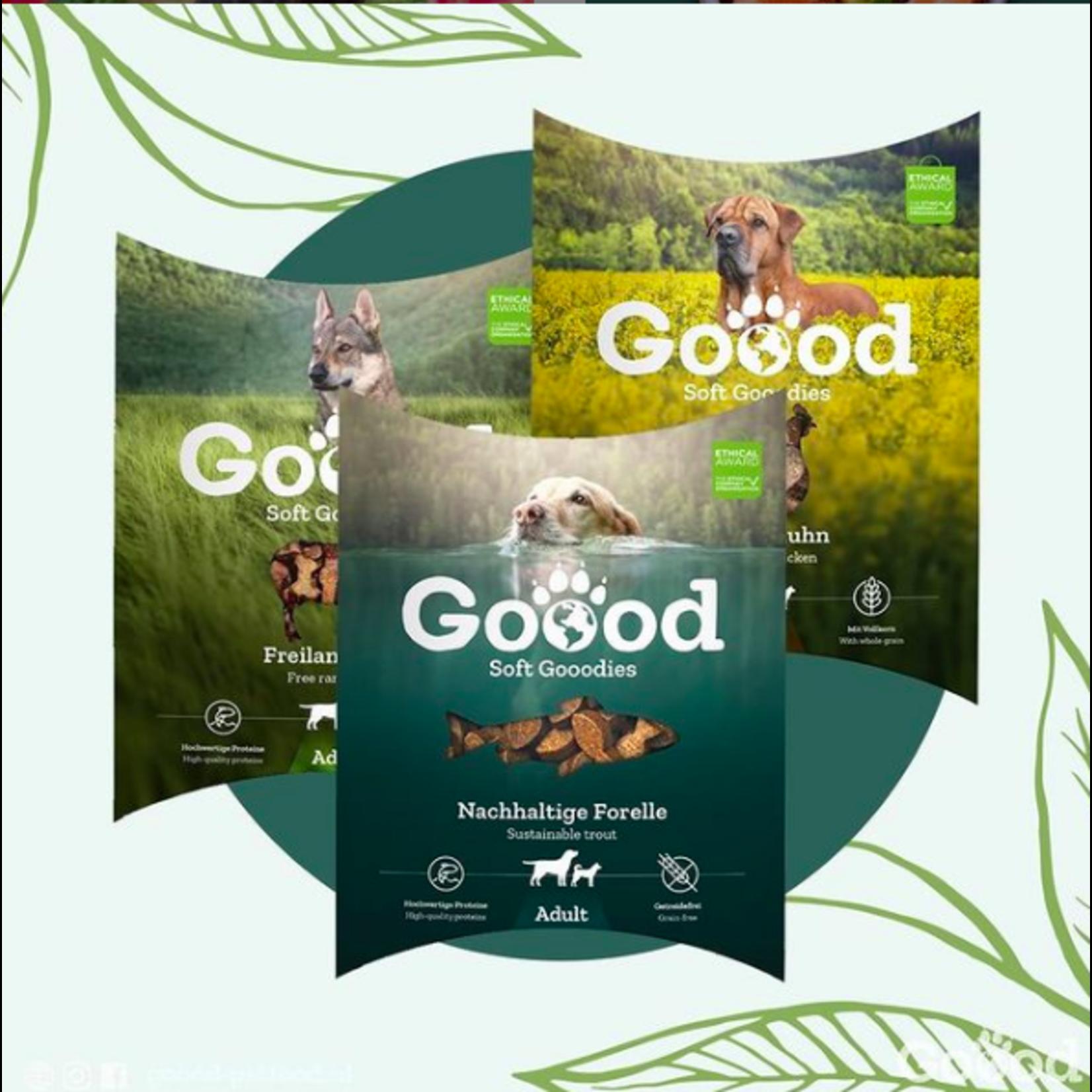 Goood Pet Food Gooodies, daar doet jouw hond alles voor!