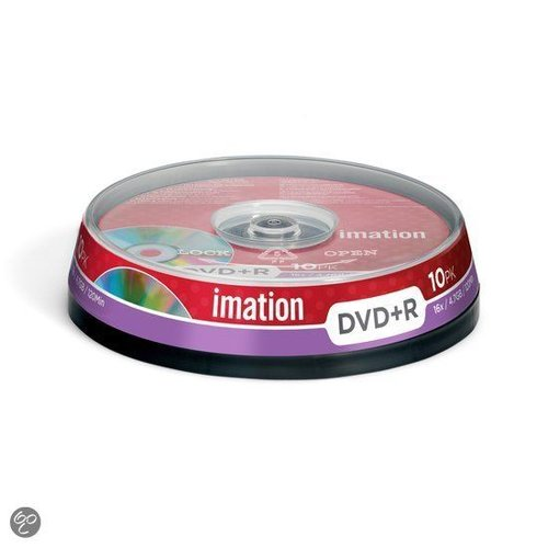 Imation DVD+R 120min/4,7Gb 10 stuks op spindel