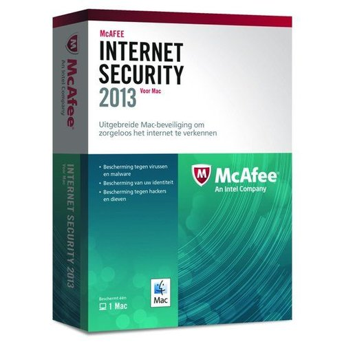 McAfee McAfee Internet Security 2013 - Nederlands / 1 Mac