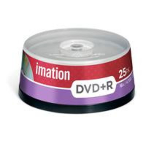 Imation Imation DVD+R 120min/4,7Gb - 25 stuks / Spindel