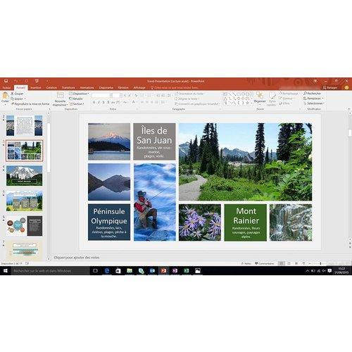 Microsoft Microsoft Office 2016 Home & Business - Windows French