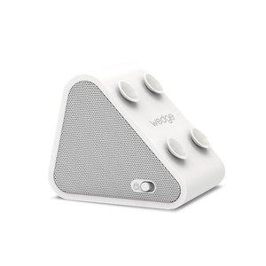 Antec AMP Wedge 2 in 1 Compact Draadloze Bluetooth Speaker met Smartphone houder, Wit