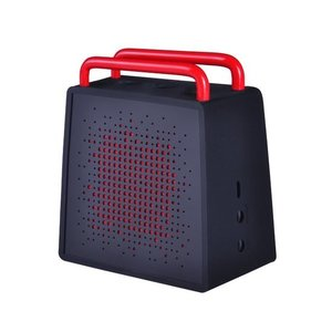 Antec Antec SPzero Bluetooth Speaker - Waterbestendig - Zwart/Rood