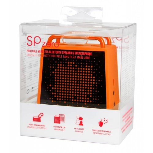 Antec Antec SPzero Bluetooth Speaker - Waterbestendig - Oranje
