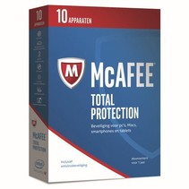 McAfee Total Protection - Nederlands - 10 Apparaten - PC / Mac / iOS / Android