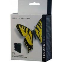 SecondLife vervangende inkt cartridge zwart voor Brother LC-980BK en LC-1100BK