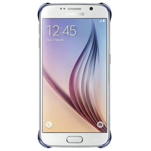 Samsung Clear Cover voor Samsung Galaxy S6 - donkerblauw