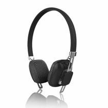 PSYC Orchid Draadloze Bluetooth hoofdtelefoon - Zwart