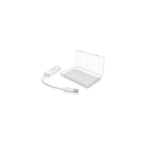 "ICY BOX IB-AC603A-U3 EXT. HDD-CASE , 1XSATA 2.5"" TO 1XUSB 3.0, BLUE LED"