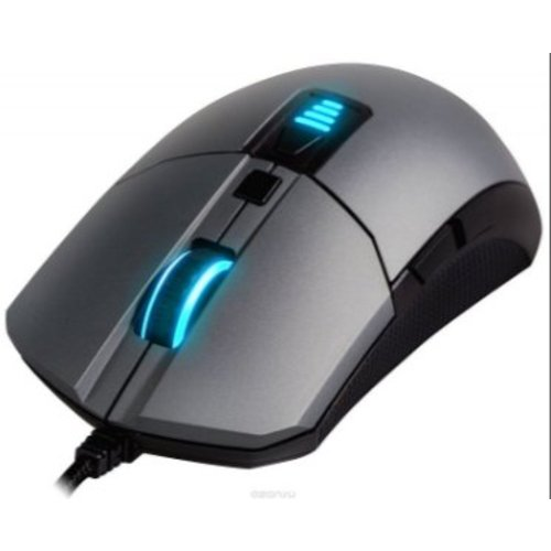 Epic Gear Epic Gear MorphA USB IR LED 6400DPI Rechtshandig Gaming  muis - Gunmetal/zwart