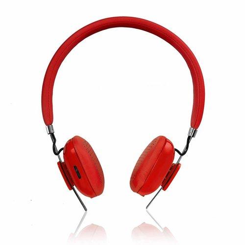 PSYC PSYC Orchid Draadloze Bluetooth hoofdtelefoon - Rood