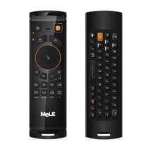 Mele F10 Deluxe 2.4GHz Fly Air Mouse draadloos QWERTY toetsenbord afstands bediening met IR Leerfunctie voor Android TV Box / Notebook / PC & MAC