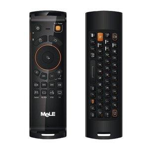 Mele Mele F10 Deluxe 2.4GHz Fly Air Mouse draadloos QWERTY toetsenbord afstands bediening met IR Leerfunctie voor Android TV Box / Notebook / PC & MAC