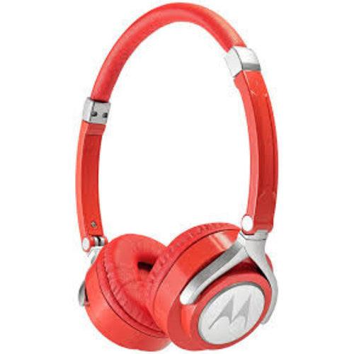 Motorola Motorola Pulse 2 Hoofdband Stereofonisch Bedraad Rood mobiele hoofdtelefoon